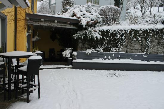 Hotel-Restaurant Krone: Terrace