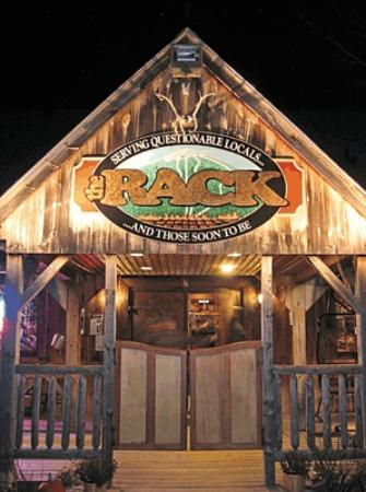 Carrabassett Valley, ME: The Rack - Entrance