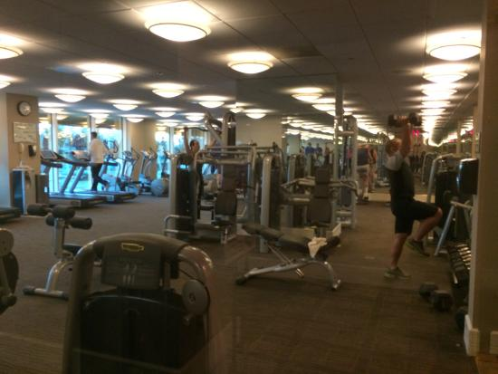Dont forget the gym nice size everything you would need