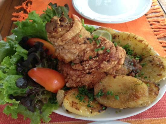 Sabor Rural: Joelho de porco pururucado, delícia