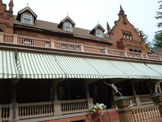 Ventfort Hall Mansion and Gilded Age Museum: Back Porch at Ventfort Hall