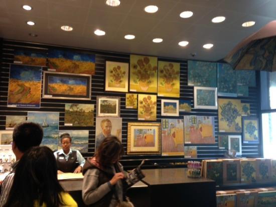 Van Gogh Museum Gift Shop Picture Of Van Gogh Museum