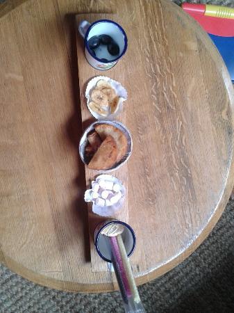 Kiddies food pairing at Creation wines!