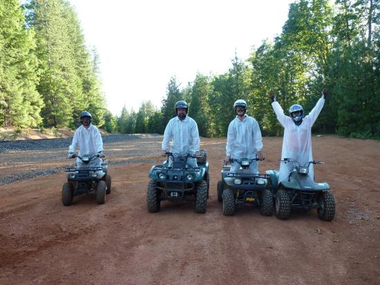 Dutch Flat Hotel: ATV ride in Dutch Flat