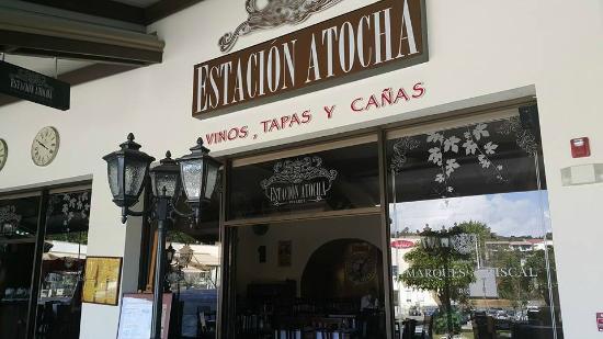 Estación Atocha Pinares