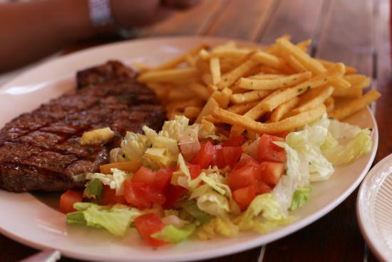 Tahiti Beach Club: мясо вкусное