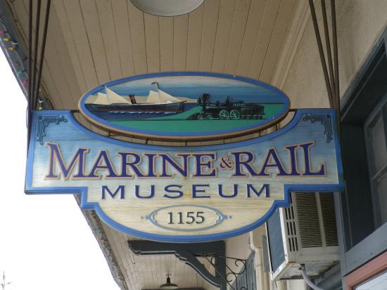 Owen Sound Marine-Rail Museum (sign)