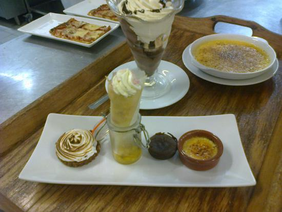 Quality Resort Rivland: Café gourmand...