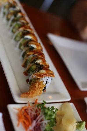 Rice Asian House and Sushi Bar : очень вкусные суши