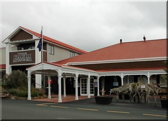 The Kauri Museum: Außenansicht