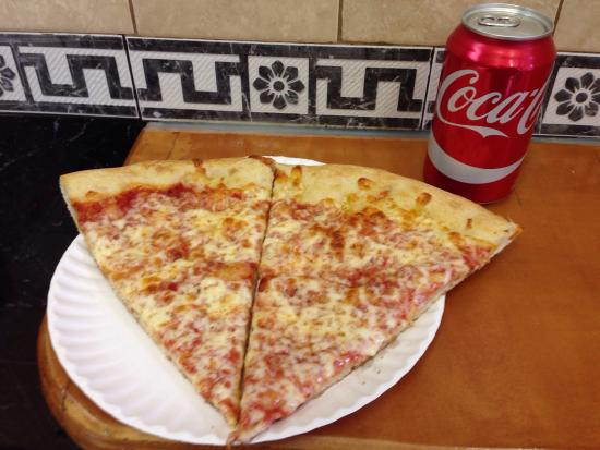 99 Cent Fresh Pizza 2 Slices And Soda