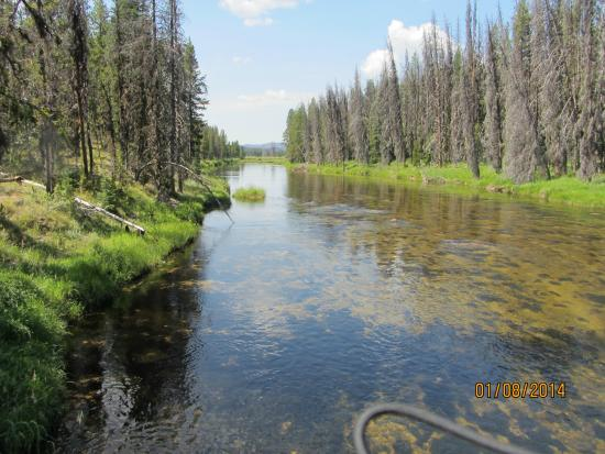 Lowman, ID: In der River of no Return Wilderness