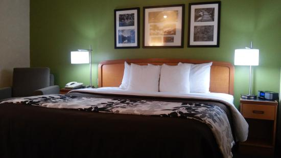 Sleep Inn & Suites: KING BED ROOM