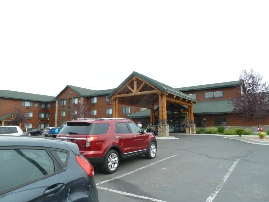 BEST WESTERN PLUS McCall Lodge & Suites : Hotel von aussen