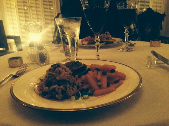 The Park Avenue Mansion Bed & Breakfast: Romantic Dinner For Two
