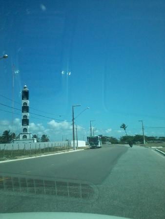 Coroa do Meio beach : Farol