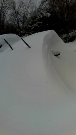 SpringHill Suites Boston Andover: The car they helped me clear