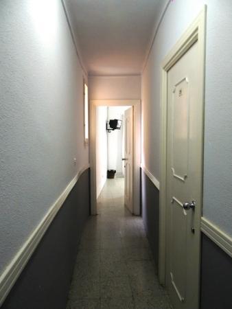 Hotel Griu: коридор