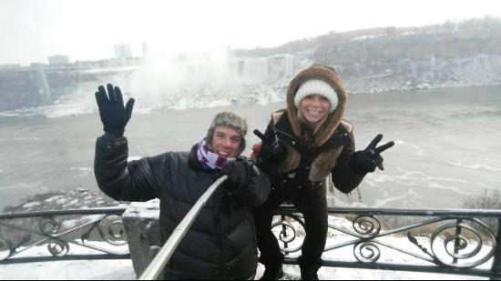 Zoom Tours: Ian & I @ Niagara Falls - January 2015