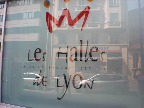 Les Halles de Lyon Paul Bocuse: la entrada