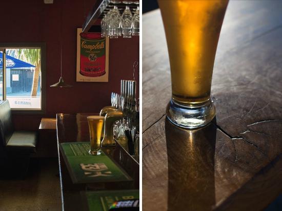 Saints Cafe, Restaurant & Bar: inside