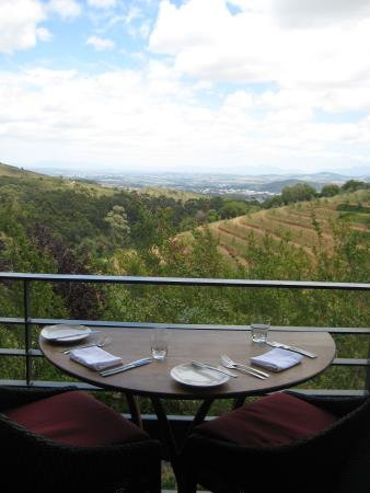 Tokara Restaurant : Table for two with a view