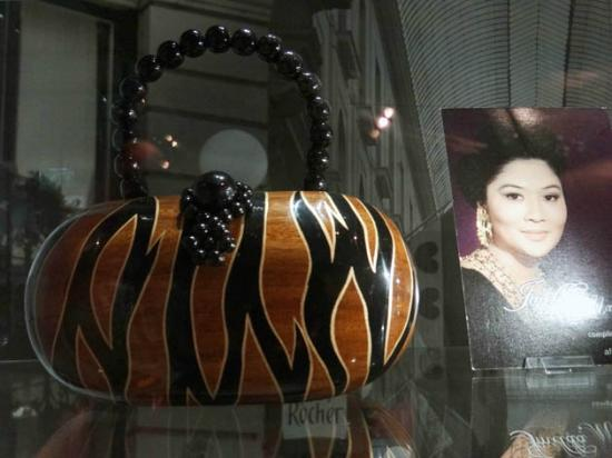 Museum of Bags and Purses: Imelda Marcos's bag