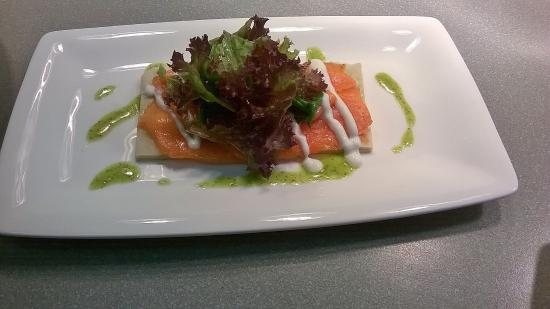 Tussock Restaurant: Our own creative twist on Smoked Salmon