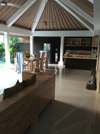 Villa Besar: Living / Family area