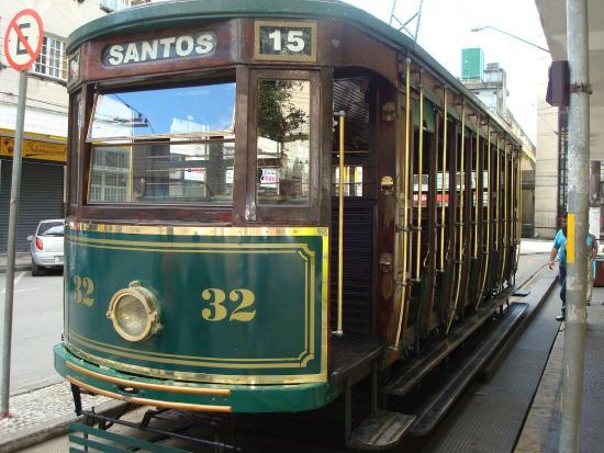 Tranvia Turistico Del Casco Historico de Santos en Brasil