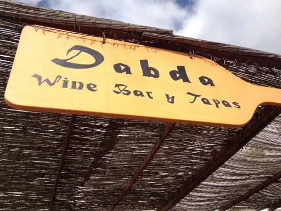 Dabda Wine Bar Tapas y Restaurant : Dabda bar