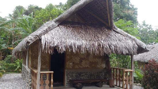 Lakatoro, Vanuatu: Le grand bungalow avec douche & toilettes