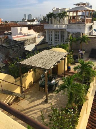 Casa Pombo : Rooftop terrace