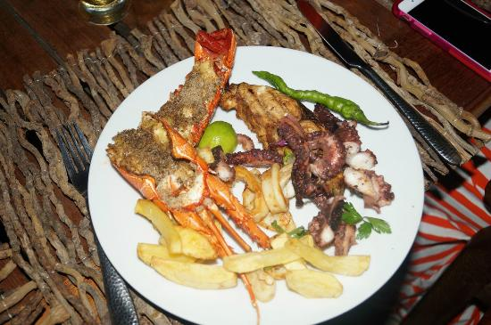 Kilwa Pakaya Hotel : The food was great