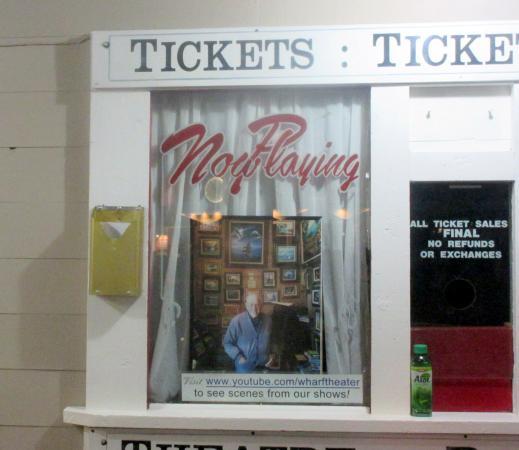 Bruce Ariss Wharf Theater, Monterey, Ca