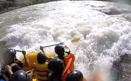 Lunahuaná Rafting Perú: Adrenalina