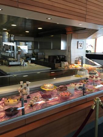 Corviglia Brasserie: Wonderful selection for a mountain location