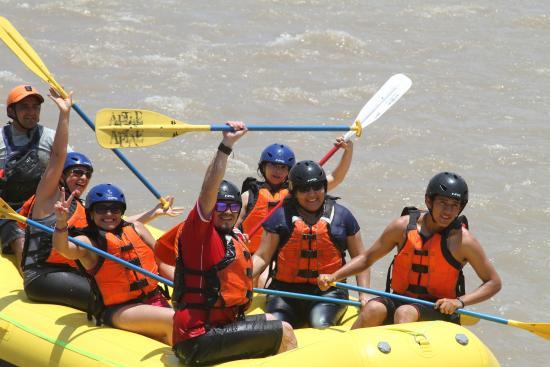 Lunahuaná Rafting Perú: Diversión !!!