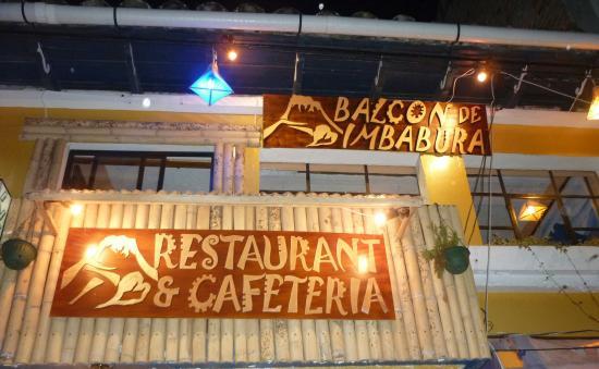 Balcon de Imbabura: BALCON  DE IMBABURA