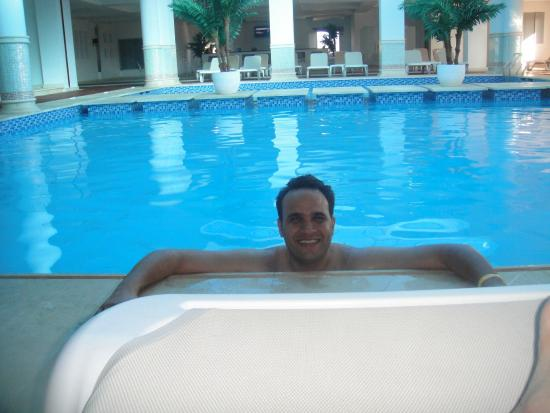 Covered Swimming Pool Picture Of Premier Le Reve Hotel Spa Adults Only Hurghada Tripadvisor