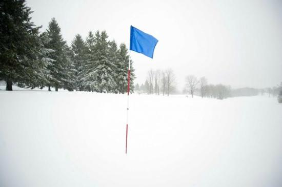 Edson, Canada: I got the photo when I was playing golf.
