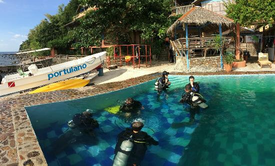 Portulano Dive Resort: New Swimming/Training Pool