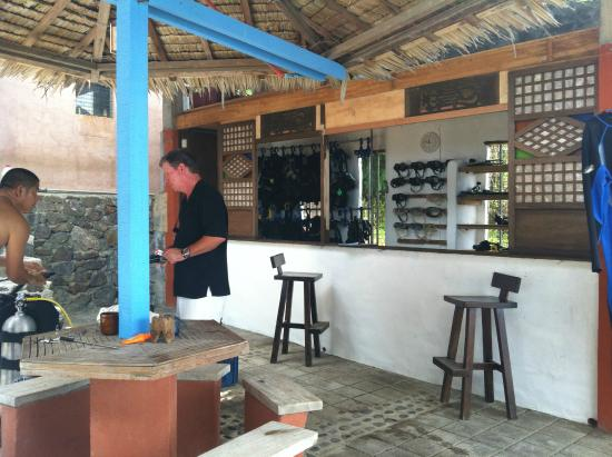Portulano Dive Resort: Dive Center