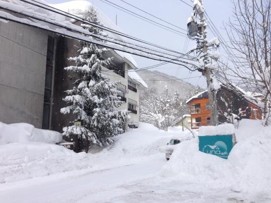 Hakuba Luna Hotel: Street view