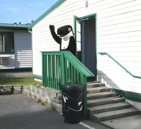 With 7 buildings, The Orca Inn is the second-largest hotel on San Juan Island!