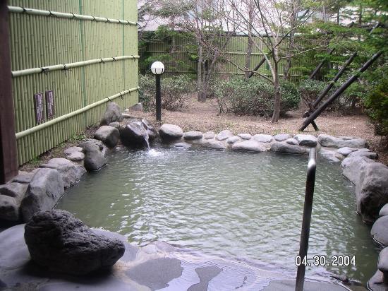 Towadako Grand Hotel : 別館の露天風呂