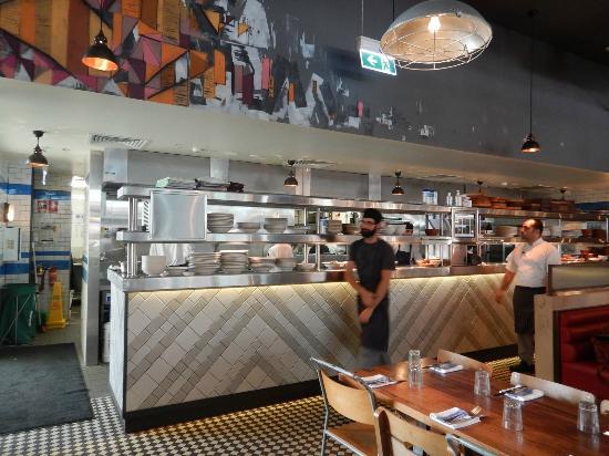 Open Kitchen Picture Of Jamie S Italian Perth Tripadvisor