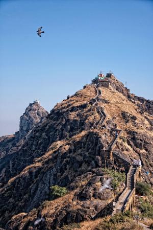 Gujarat, India: Goraknath temple on the second hill