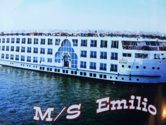 The M S Emilio Boat Picture Of Nile River Egypt