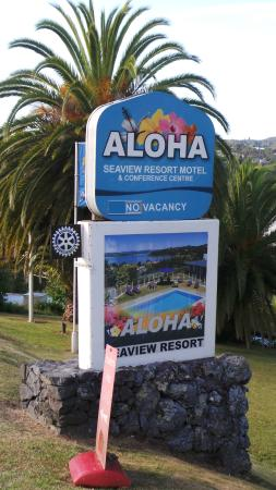 Aloha Seaview Resort Motel: Mooie plek om te verblijven